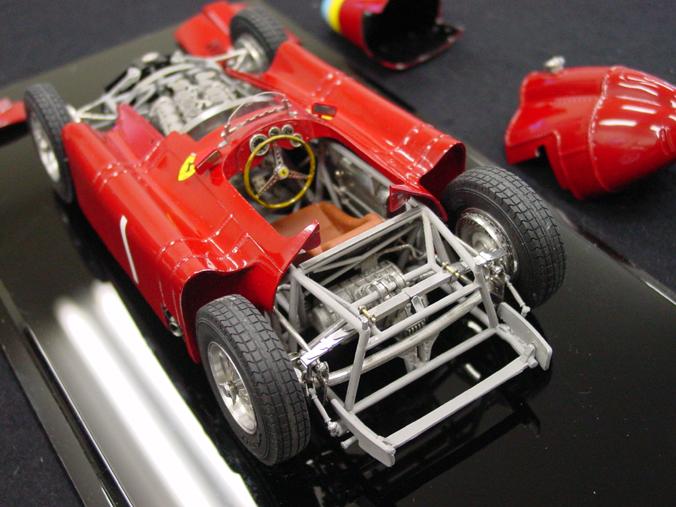 What Is Suspension In Car >> Lancia Ferrari D50